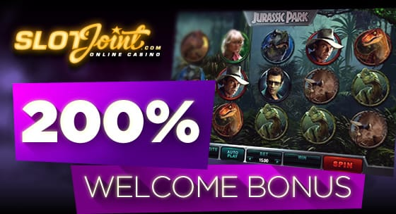 get 200% in SlotJoint- just added Microgaming Brand