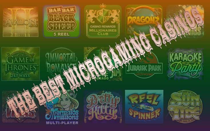 casinos online microgaming
